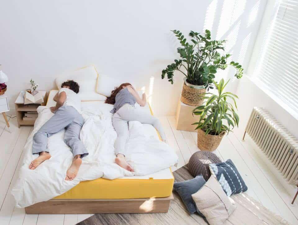 matelas eve latest en bref cest un vrai bonheur daller me coucher sur mon matelas eve tous les. Black Bedroom Furniture Sets. Home Design Ideas