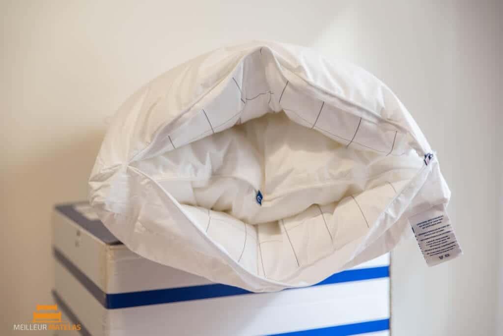 un oreiller dans un oreiller