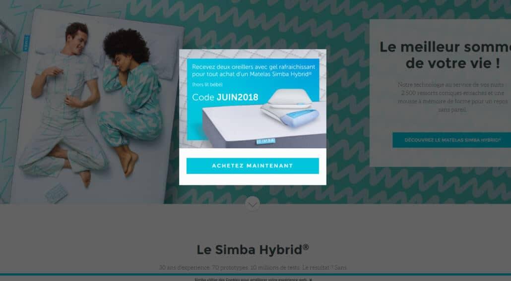 code promo simba juin 2018