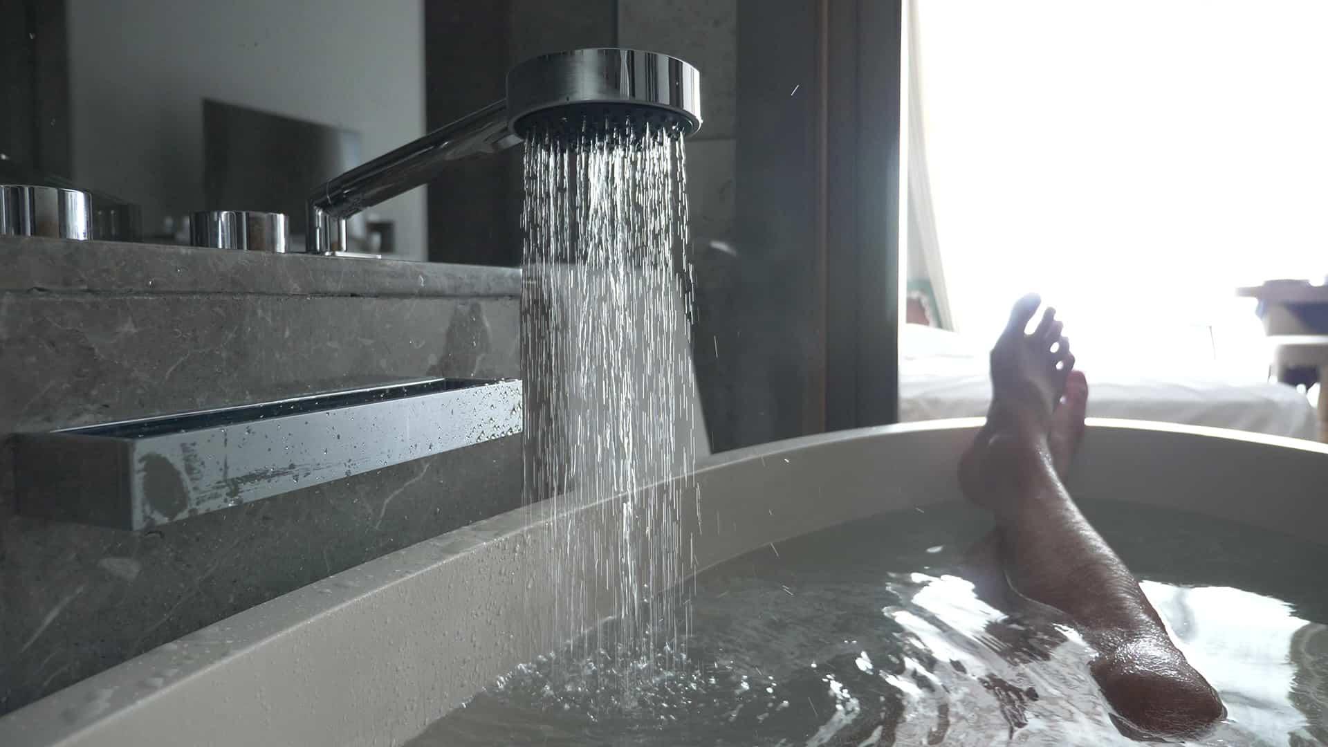 bain chaud pour dormir plus facilement